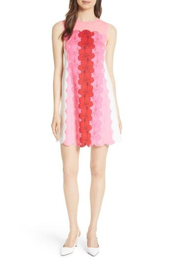 f1c43113c16 Ted Baker Angge Happiness Floral-Print Jersey Mini Dress In Neon Pink
