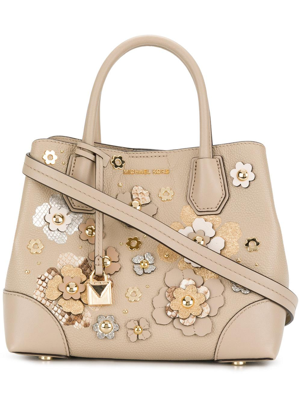 6aa40863cbf0 Michael Michael Kors Mercer Gallery Small Tote - Nude & Neutrals ...