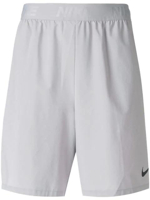 Nike Flex Training Shorts In Grey