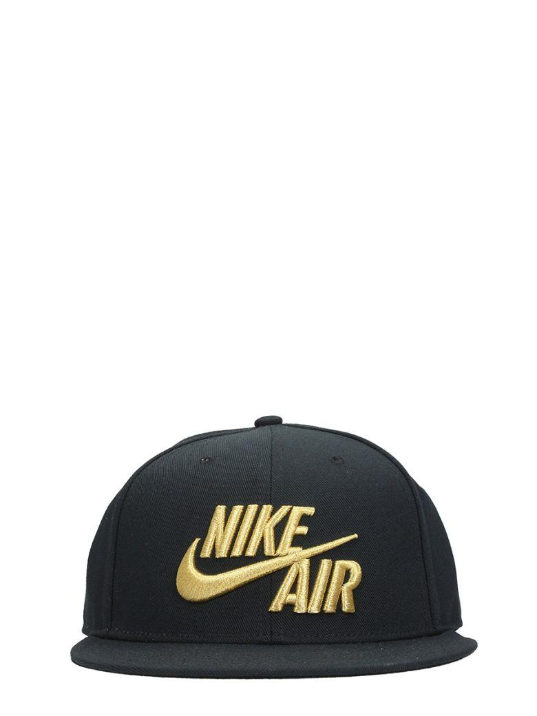 0fa30bbac2f13 Nike Air True Snapback Black Cotton Cap