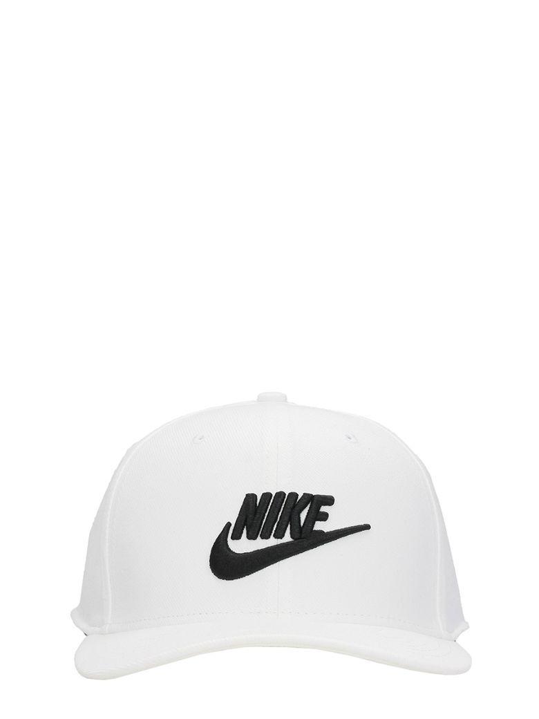 Nike White Cotton Cap