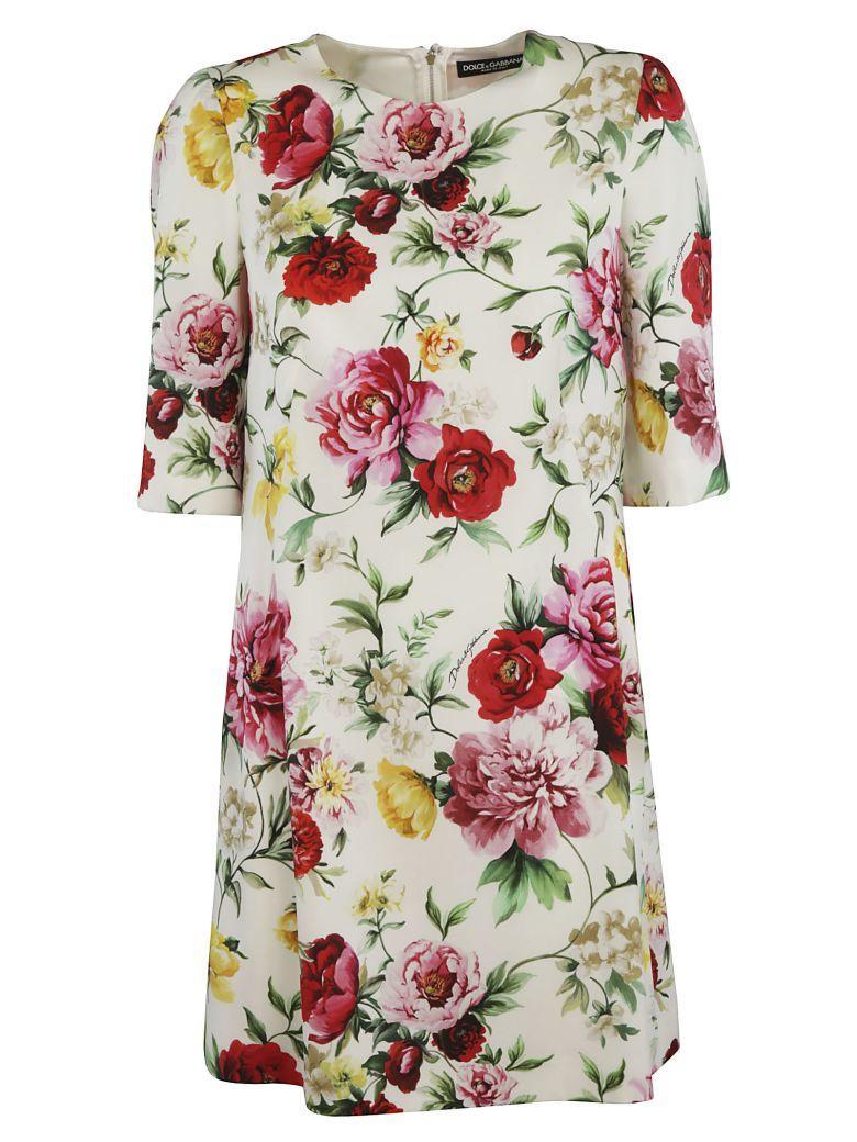 Dolce & Gabbana Printed Floral Dress