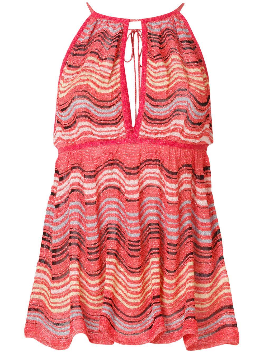 M Missoni Sleeveless Knit Top