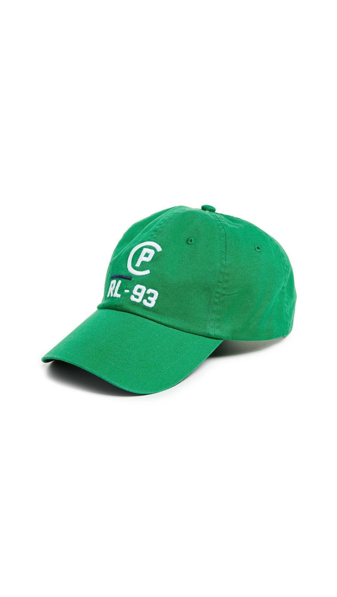 Polo Ralph Lauren Cotton Chino Hat In Green