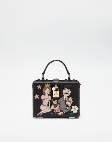 Dolce & Gabbana Dolce Box Handbag With Dg Family Patch In
