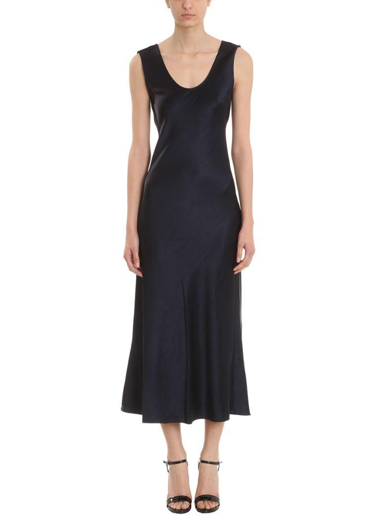 6f291c25305 Theory Sateen Cowl Back Midi Dress In Blue | ModeSens