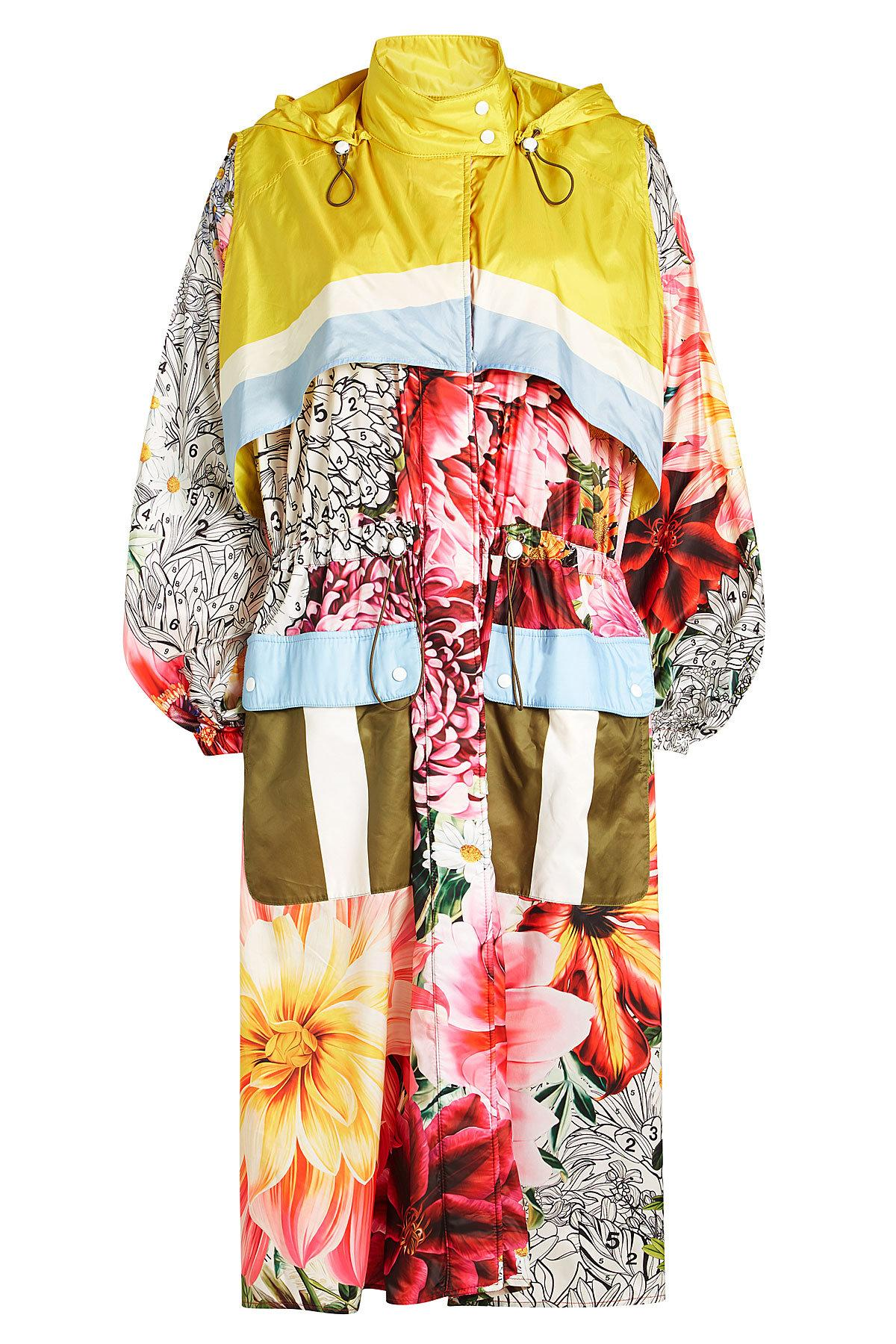 Mary Katrantzou Printed Coat In Multicolored