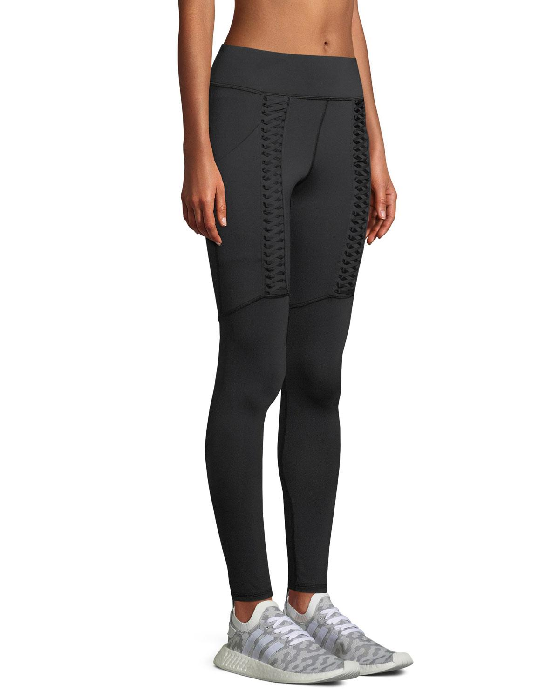 4c477309d6 Michi Hypernova Lace-Up Leggings In Black | ModeSens