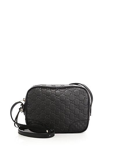 0c4f470018bf Gucci Bree Ssima Leather Mini Messenger Bag In Black | ModeSens