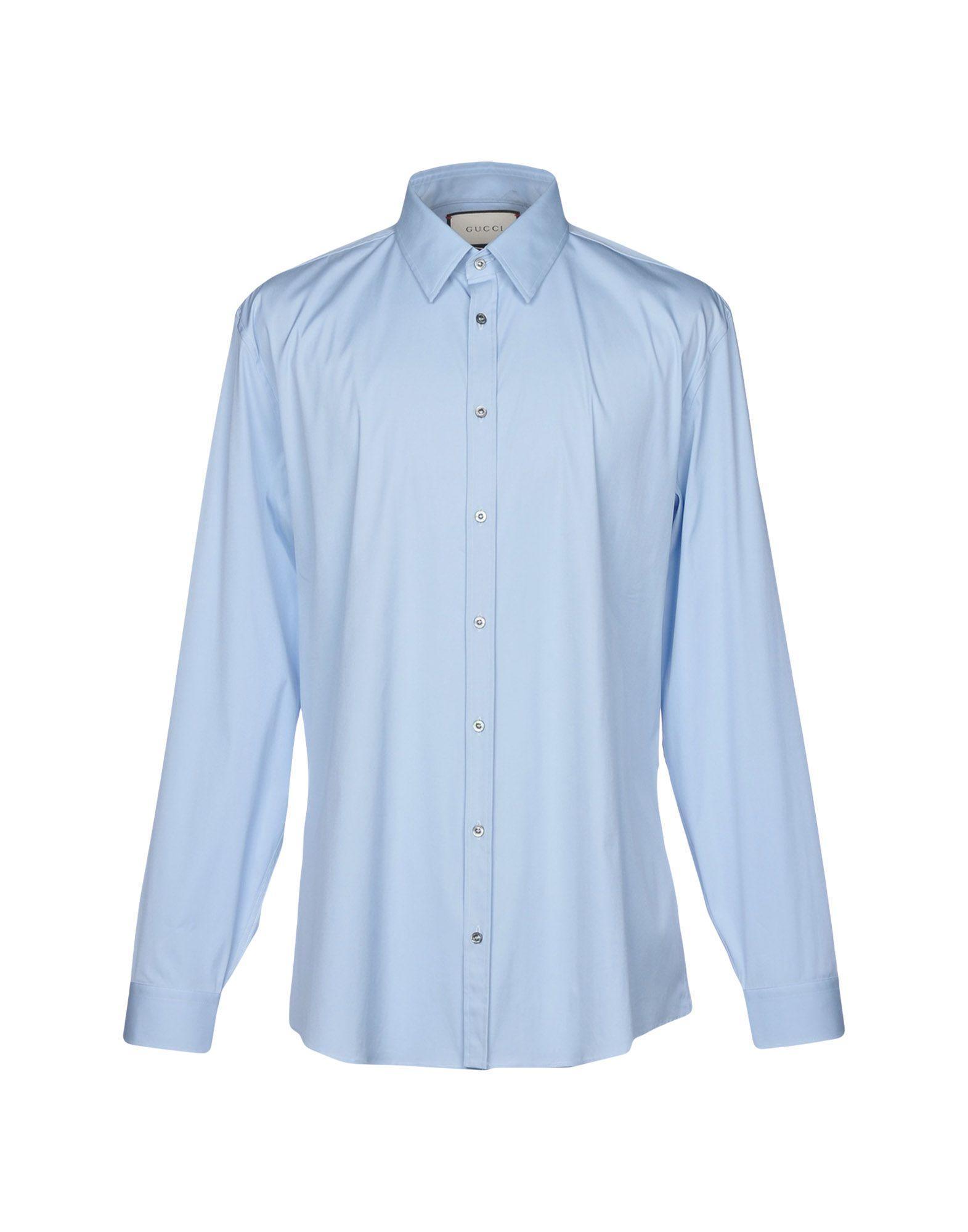 3b3f3cc93 Gucci Shirts In Sky Blue   ModeSens
