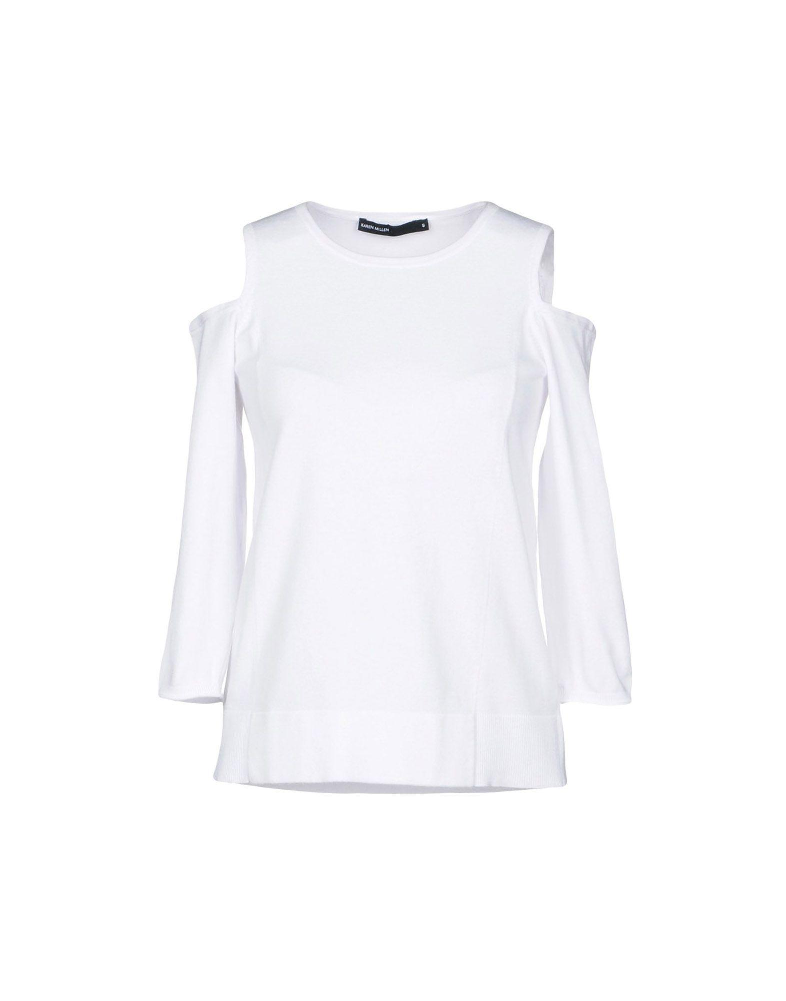 Karen Millen Sweater In White