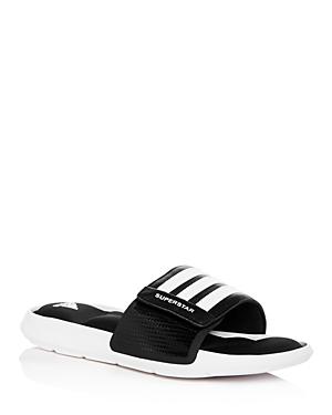 a1e758dae Adidas Originals Men s Superstar Slide Sandals In Black