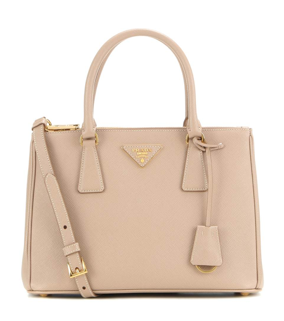289d15a64cef2d Prada Galleria Saffiano Small Leather Shoulder Bag In Cammeo | ModeSens