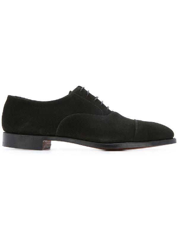 Crockett & Jones Casual Oxford Shoes - Black