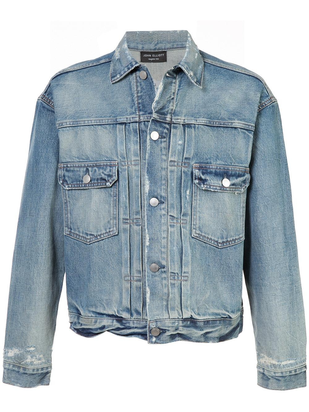 John Elliott Denim Jacket - Blue