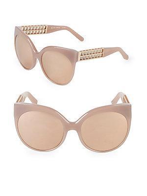b7b5405c979 Linda Farrow Luxe 59Mm Cat-Eye Sunglasses In Dusty Rose