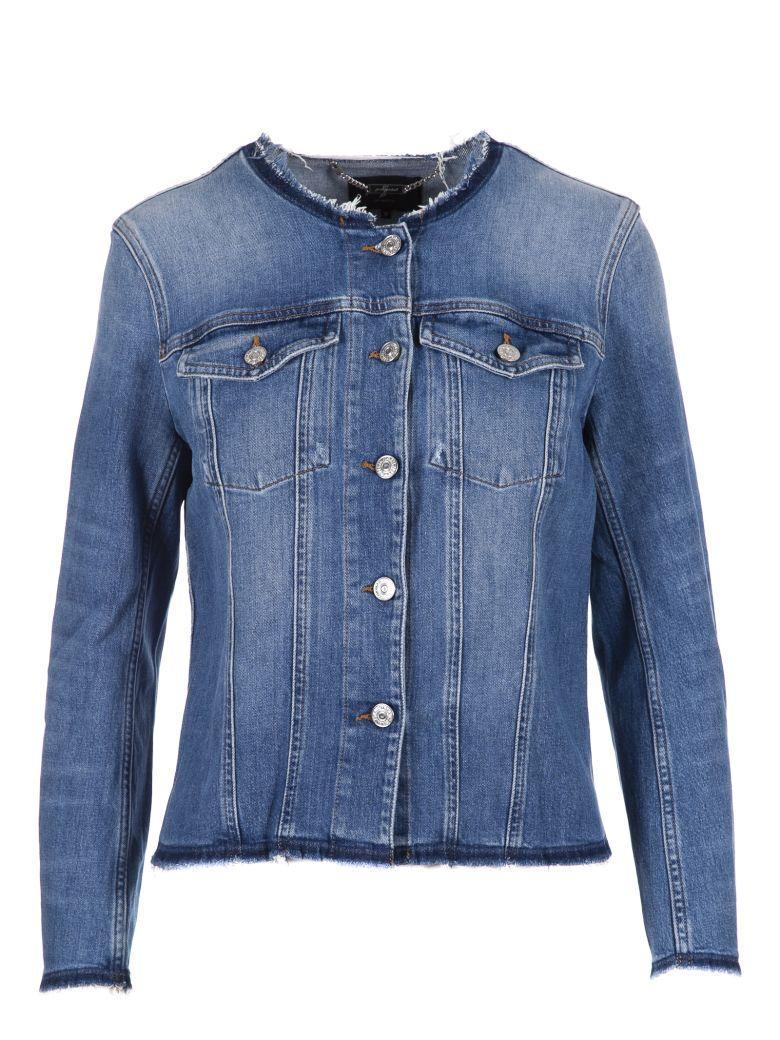 7 For All Mankind Denim Jacket In Daydream