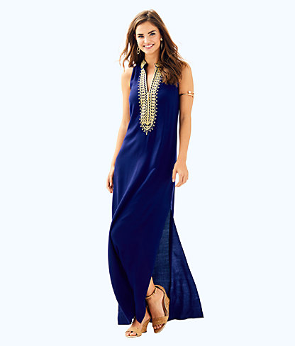 official site elegant shoes no sale tax Womens Jane Maxi Dress In True Navy