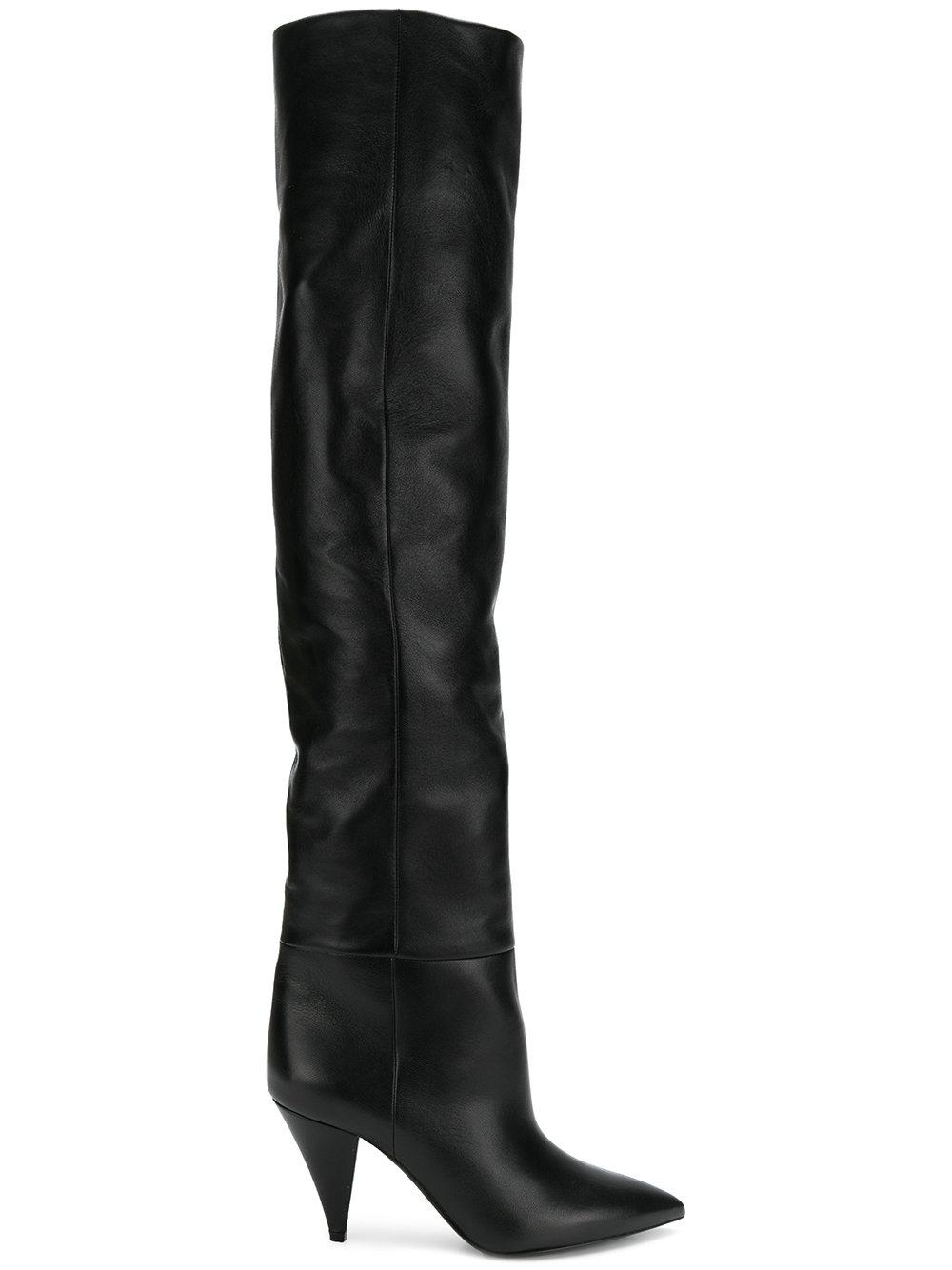7e1abe59d64 Niki Over The Knee Boots in Black