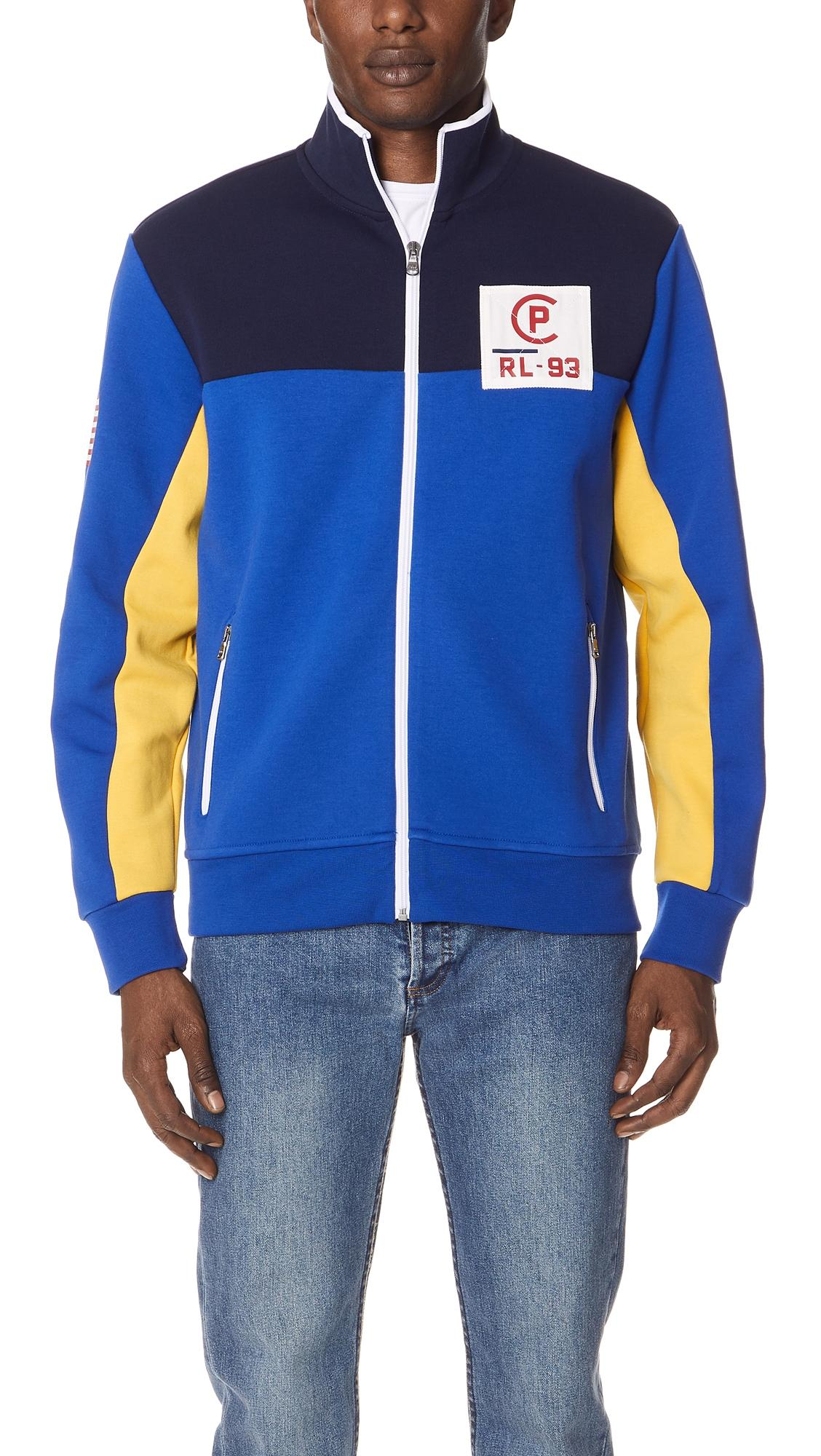 Polo Ralph Lauren Men's Cp-93 Double-Knit Track Jacket In Royal