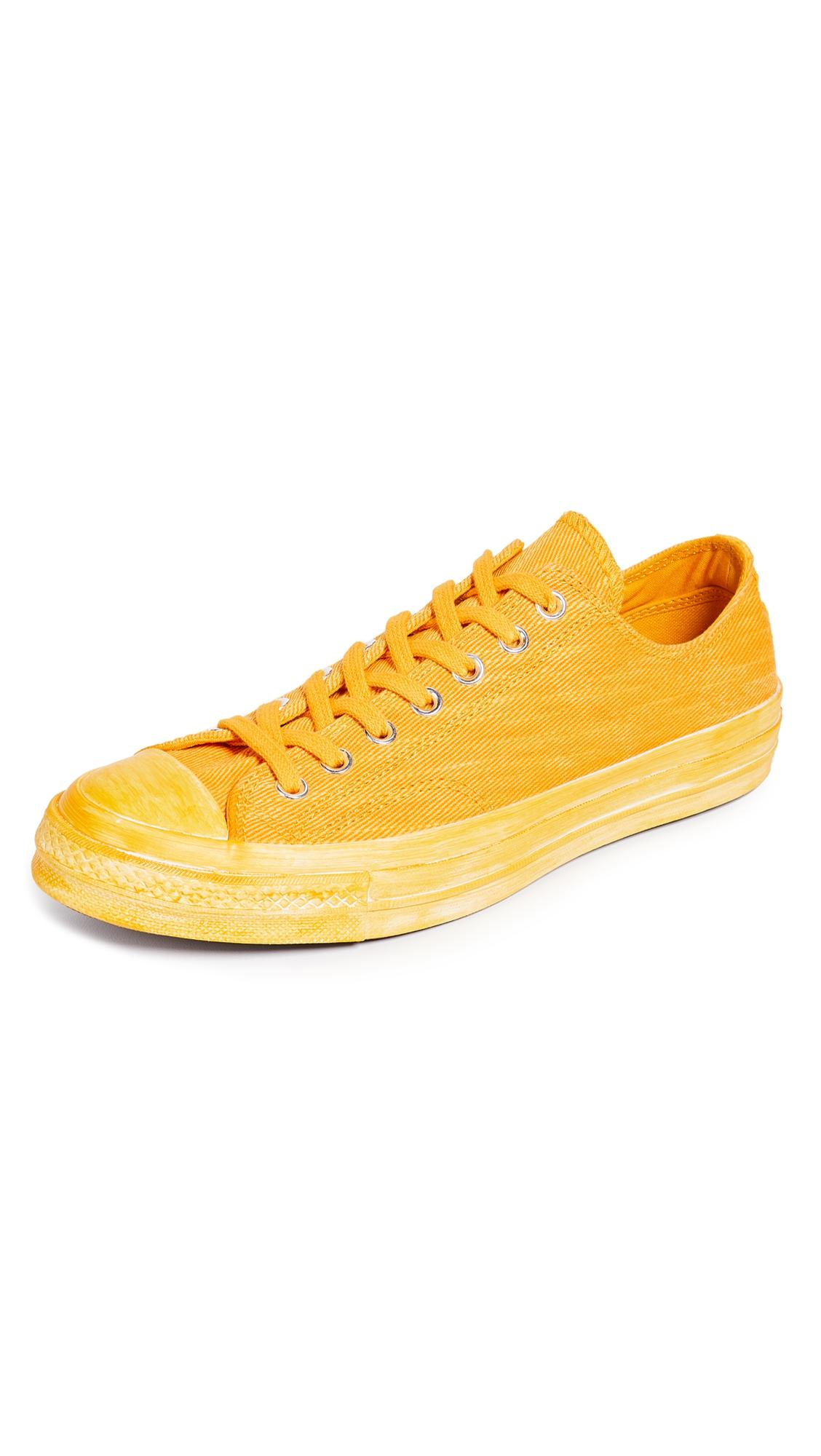 Converse Chuck Taylor All Star 70 Ox Sneakers In Yellow