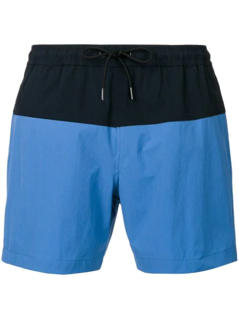 Theory Cosmos Swim Shorts In Blue
