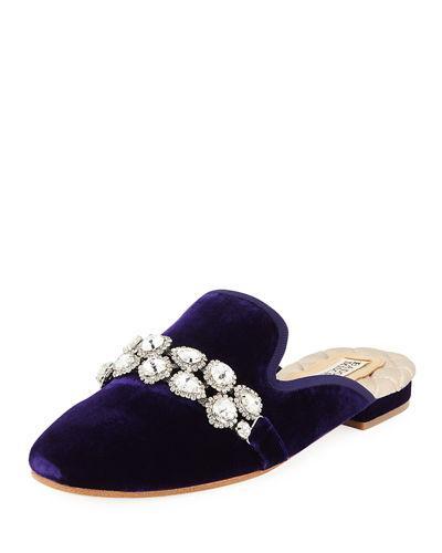 Slippers Badgley Mischka Womens Wade Closed Toe Slip On Slippers Women's Shoes