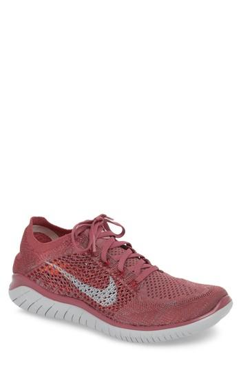 Melbourne Albany resistance  Nike Free Rn Flyknit 2018 Running Shoe In Vintage Wine/ Wolf Grey | ModeSens