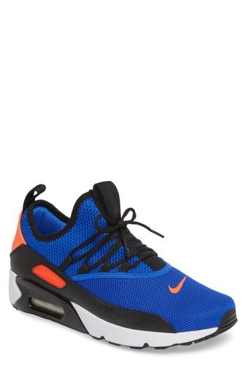 low priced 6c194 57647 NIKE. Men s Air Max 90 Ez Casual Sneakers From Finish Line in Racer Blue Total  Crimson-