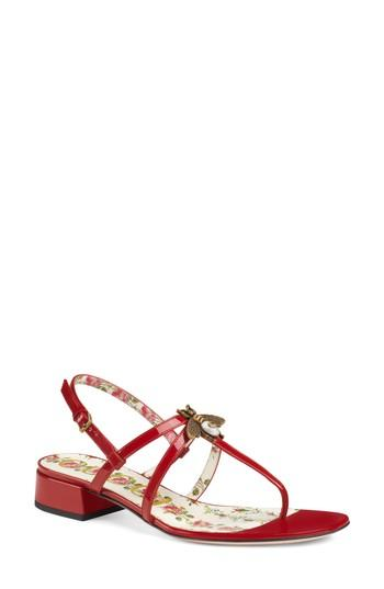 f4924d7ec4bca Made in Italy. Gucci Women s Patent Leather Sandals - Pink Size 6.5 A great  designer gift. Stay on top of Spring trends and shop Gucci at Barneys  Warehouse.