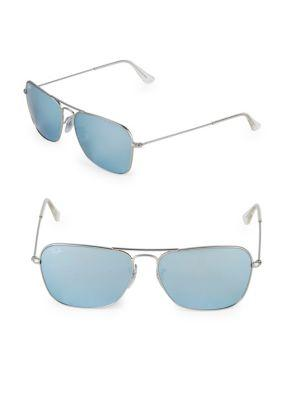 94a3cde2875 Ray Ban 58Mm Caravan Sunglasses In Silver