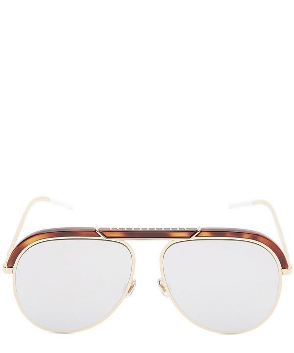 7829d8920b Dior Desertic Aviator Sunglasses In Brown