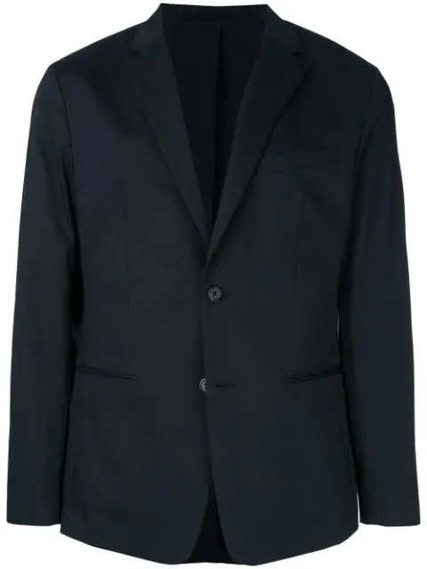 Theory Tailored Blazer In Blue
