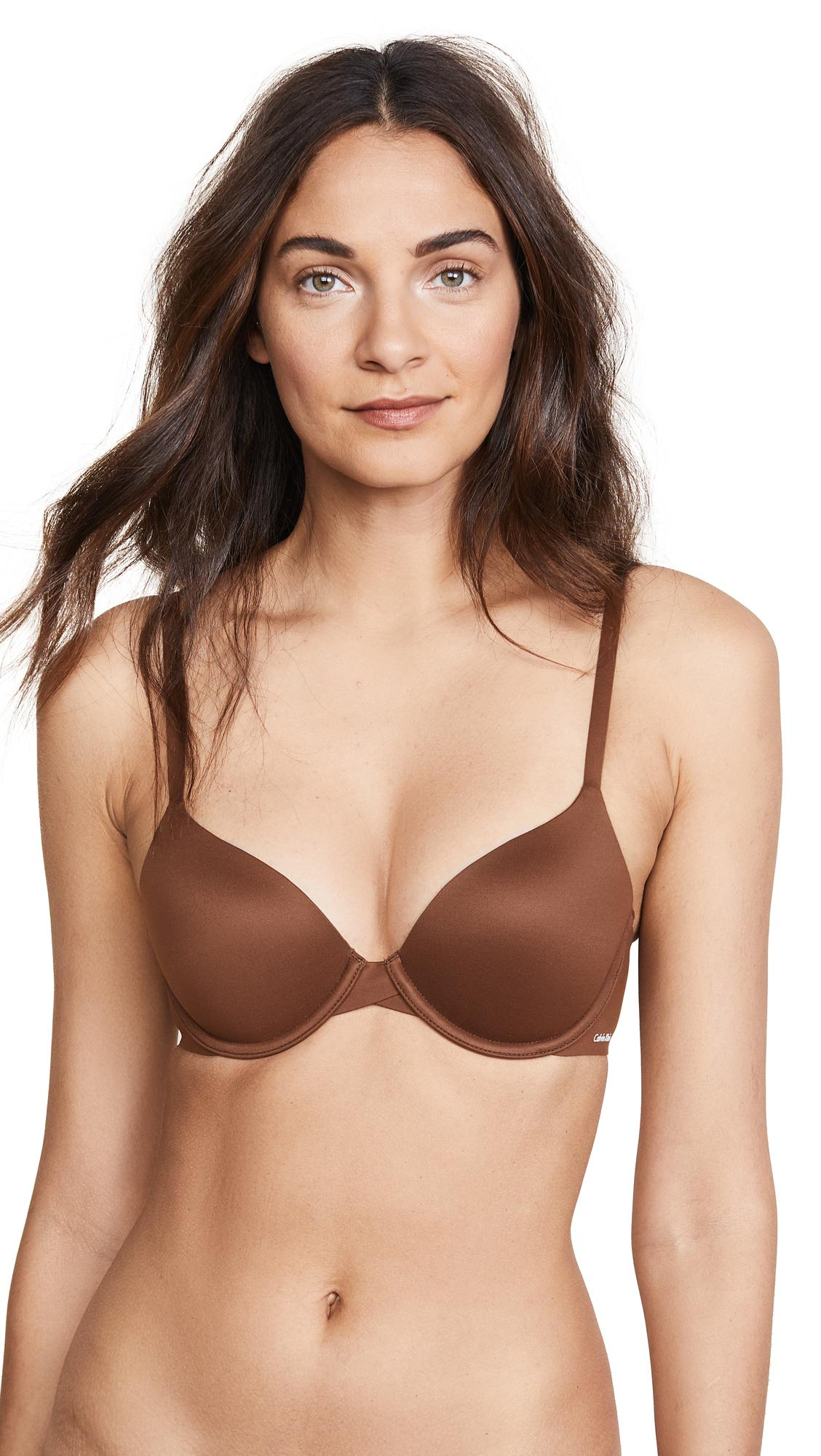 39e945d530 Calvin Klein Underwear Perfectly Fit Modern T-Shirt Bra In Cinnamon ...