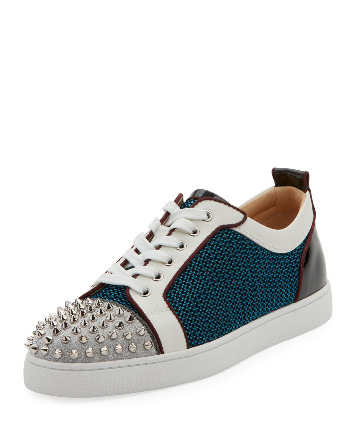 super popular a3ffa f790d Men's Louis Junior Spiked Low-Top Sneakers in Version Multi