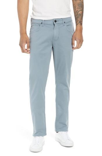 Hudson Blake Slim Fit Jeans In Dust Blue