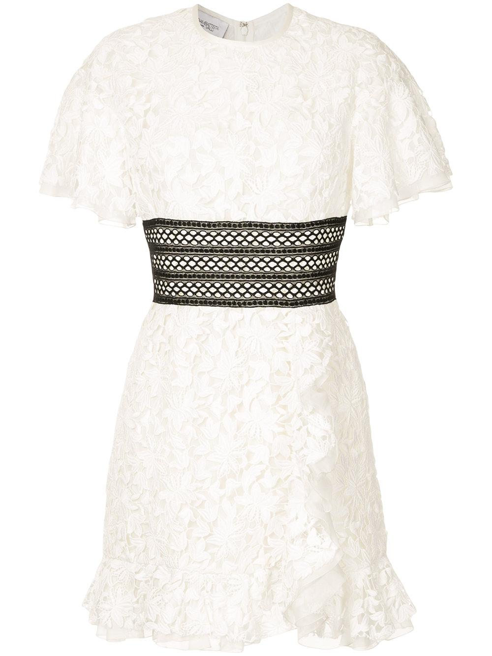 Giambattista Valli Lace Mini Dress