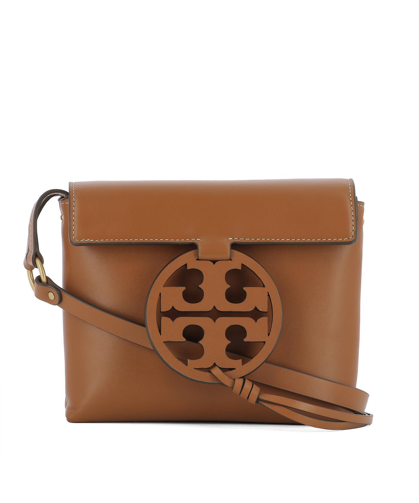Tory Burch Brown Leather Shoulder Bag
