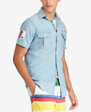 7ea9f25c Polo Ralph Lauren Men's Classic-Fit Chambray Cp-93 Shirt, Created For Macy's