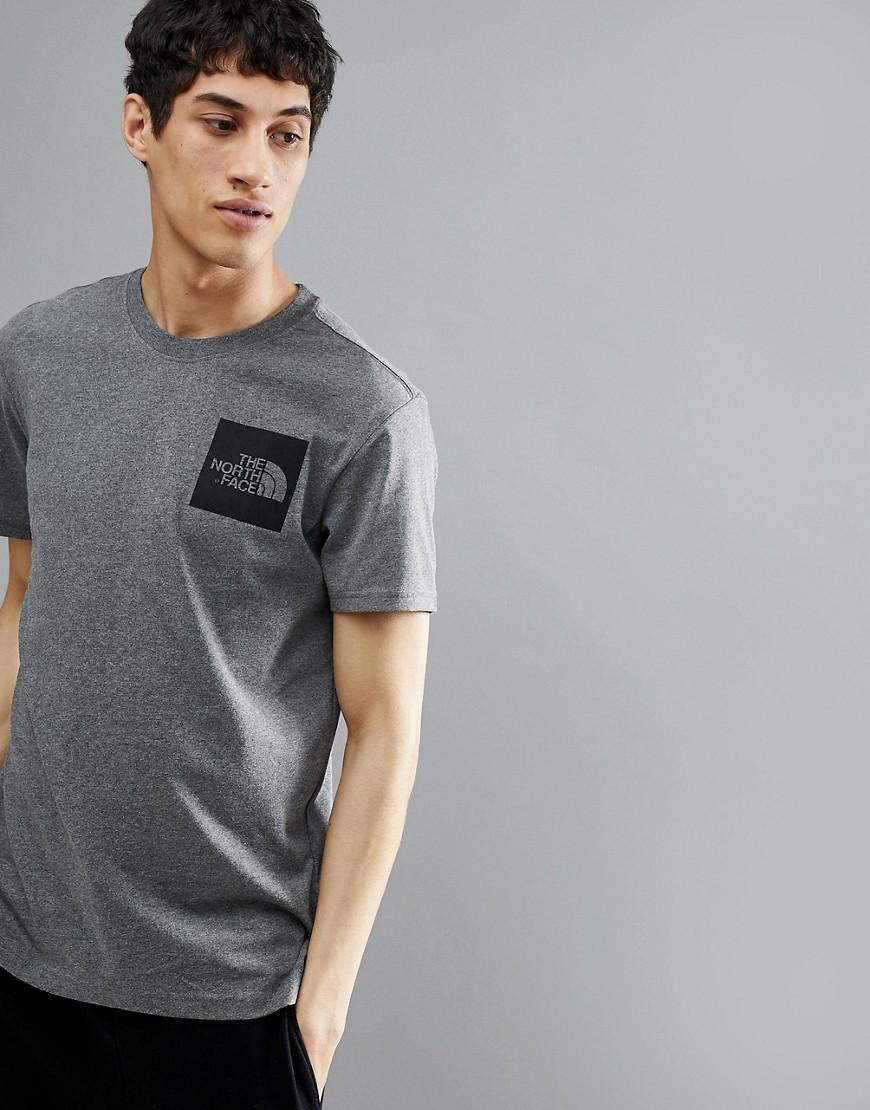 d33ec993e Fine Box Logo T-Shirt In Gray Marl - Gray