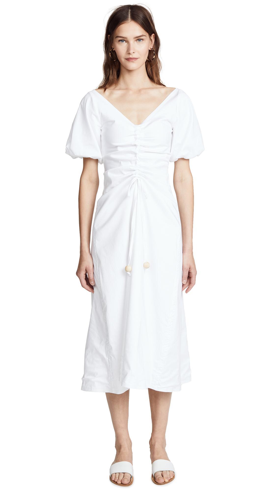 Paper London Sisi Dress In White