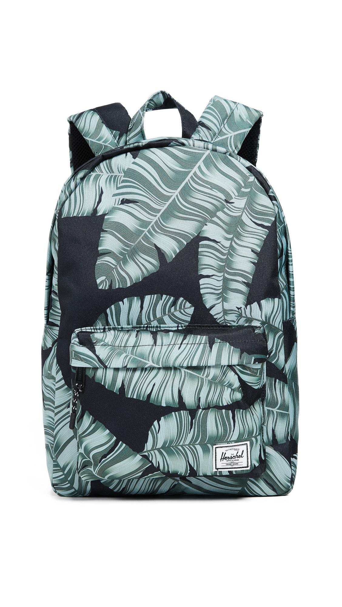 Herschel Supply Co. Classic Mid Volume Backpack In Black Palm  9f9d054092af0
