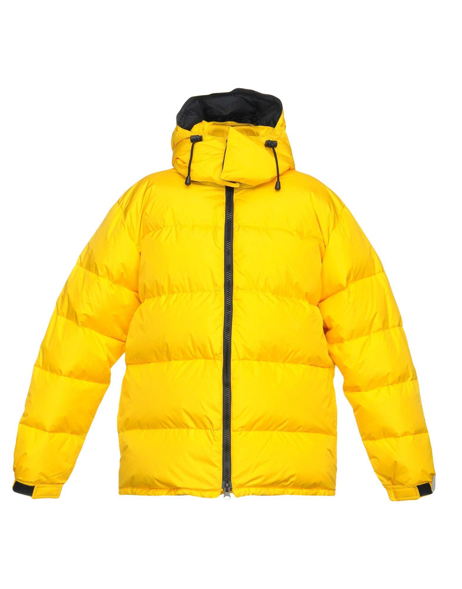 Aspesi Down Jacket In Yellow