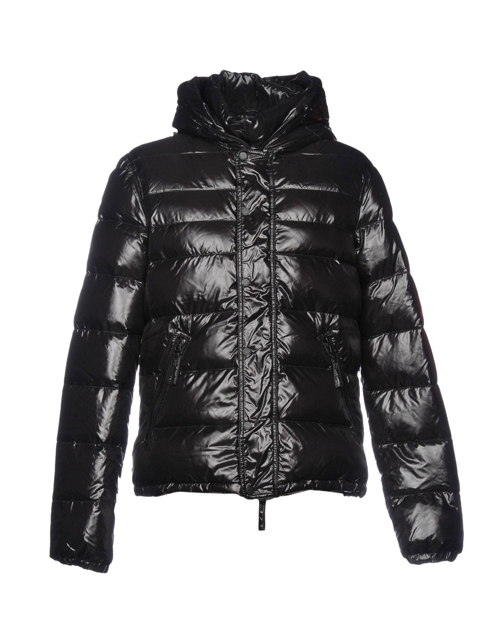 Duvetica Down Jacket In Black