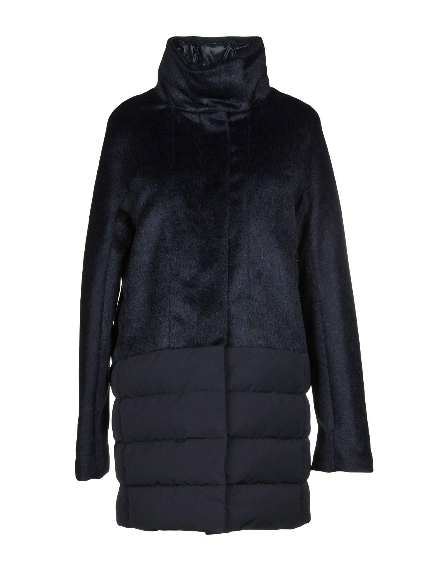 Duvetica Down Jacket In Dark Blue