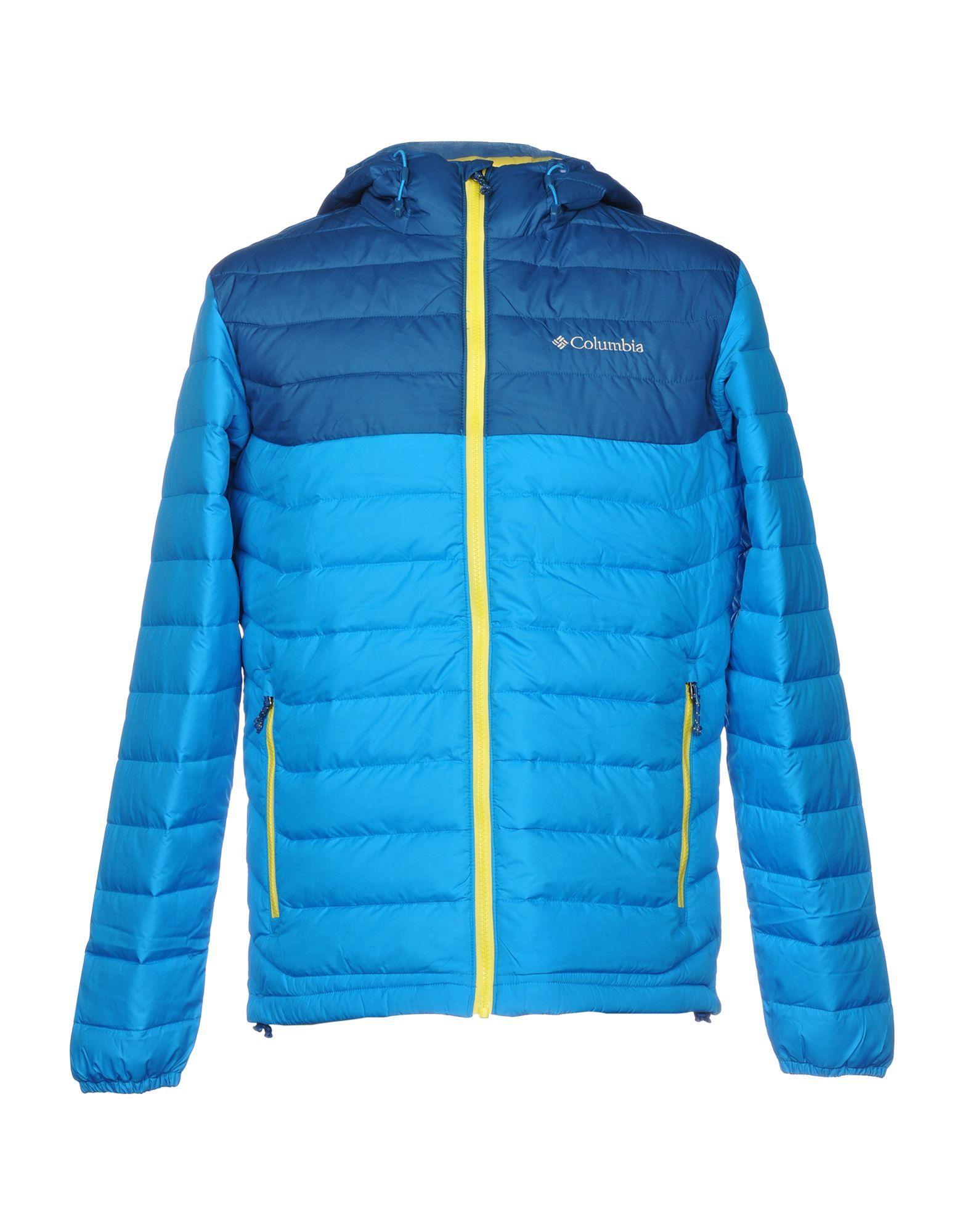 Columbia Jacket In Azure