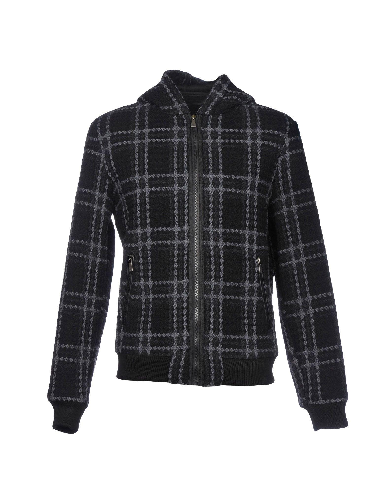 Trussardi Jeans Jackets In Black