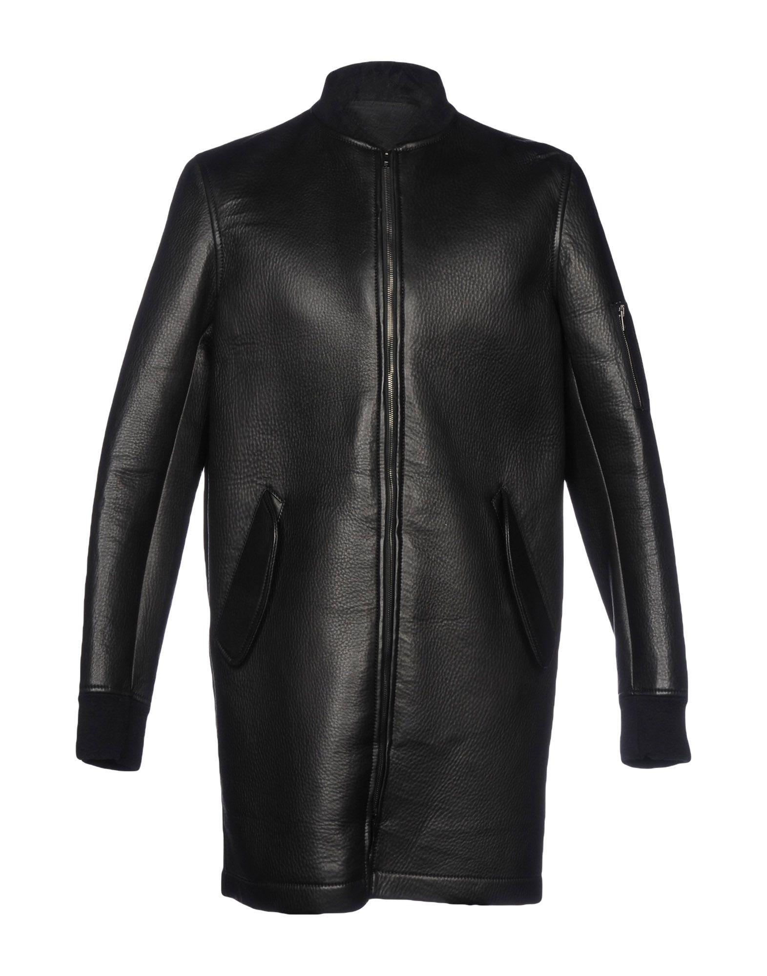 Salvatore Santoro Leather Jacket In Black