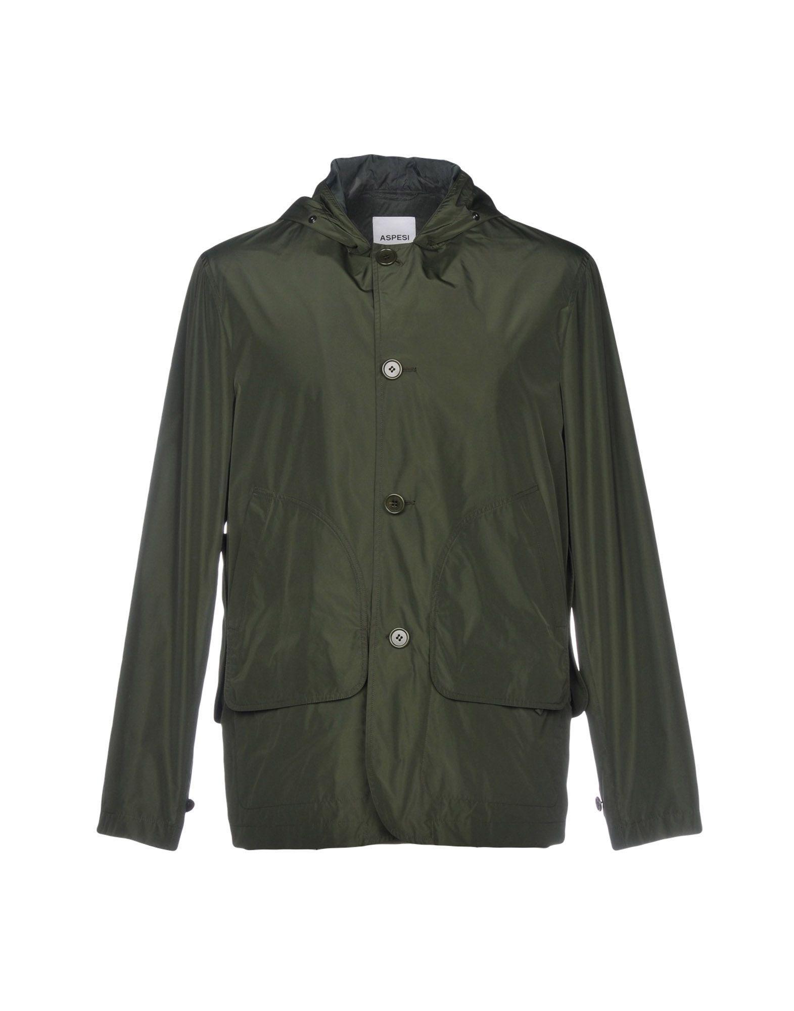 Aspesi Jackets In Dark Green