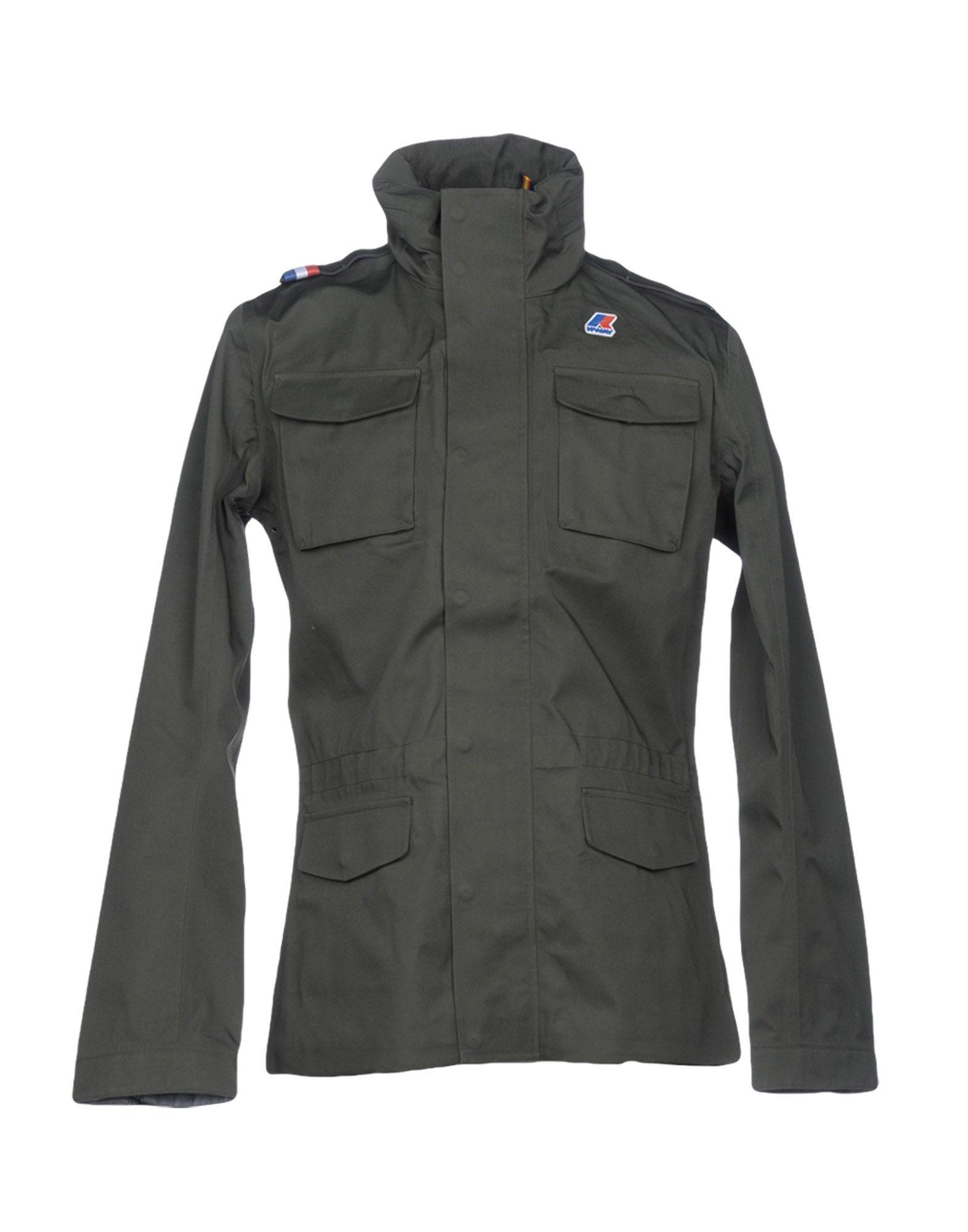 K-way Jacket In Military Green